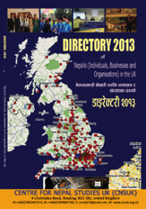 Directory of Nepalese in the UK- by CNSUK (2013)