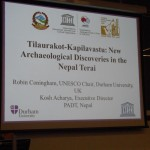 Annual Lecture 2014 Given by Prof Coningham
