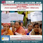 14th Annual Nepal Lecture 2016 (all information)