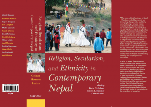 Religion, Secularism, and Ethnicity in Contemporary Nepal (2016)