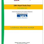 18th Nepal Study Days, 22-23 April 2021 (All information)