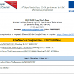 BNAC Nepal Study Days 22-23 Apr 2021- Final Programme